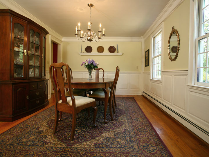 Virtual tour and photographed by jay groccia principal for Dining room showcase