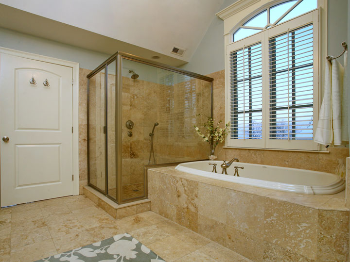 Virtual tour photographed by jay groccia principal for Master bathroom suite designs
